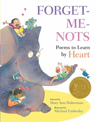 Cover image for Forget-me-nots : poems to learn by heart