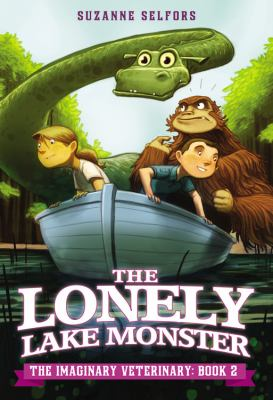 Cover image for The lonely lake monster