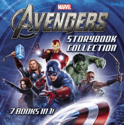 Cover image for Marvel The Avengers storybook collection.