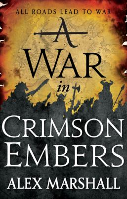 Cover image for A war in crimson embers
