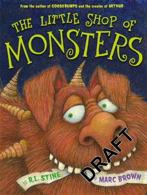 Cover image for The Little Shop of Monsters