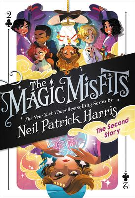 Cover image for Magic Misfits. The second story
