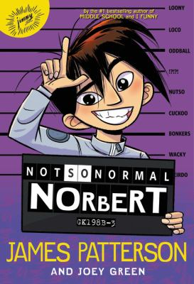 Cover image for Not so normal Norbert