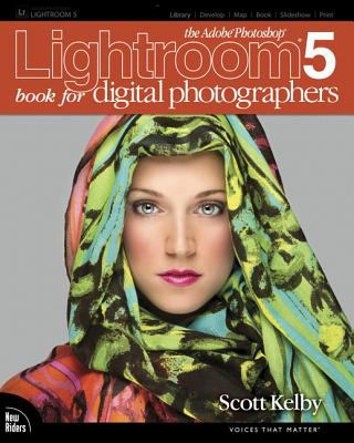 Cover image for The Adobe Photoshop Lightroom 5 book for digital photographers