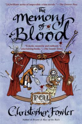 Cover image for The memory of blood : a Peculiar Crimes Unit mystery