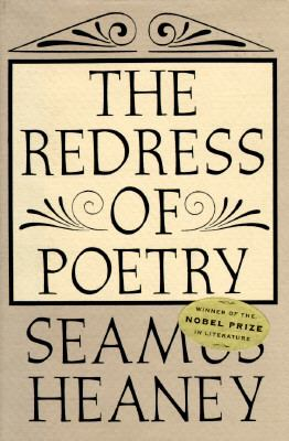 Cover image for The redress of poetry