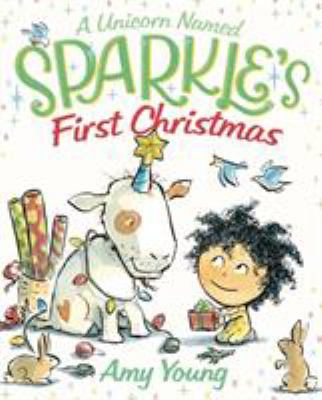 Cover image for A unicorn named Sparkle's first Christmas