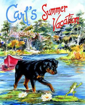 Cover image for Carl's summer vacation