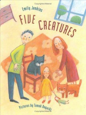 Cover image for Five creatures