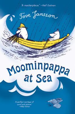 Cover image for Moominpappa at sea