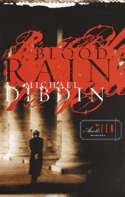 Cover image for Blood rain : an Aurelio Zen mystery