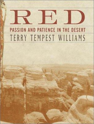 Cover image for Red : passion and patience in the desert