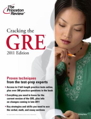 Cover image for Cracking the GRE