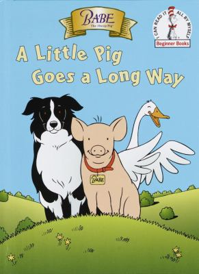 Cover image for Babe : a little pig goes a long way
