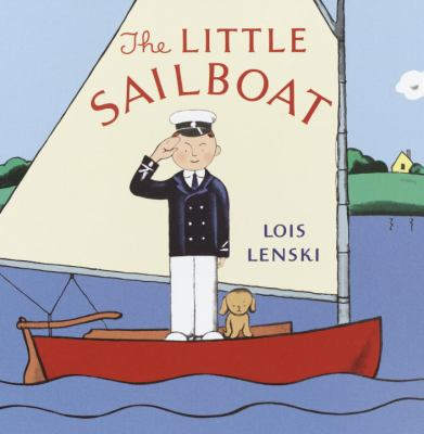 Cover image for The little sailboat