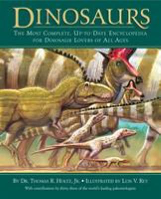Cover image for Dinosaurs : the most complete, up-to-date encyclopedia for dinosaur lovers of all ages