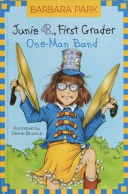 Cover image for Junie B., first grader : one-man band