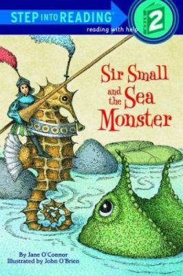 Cover image for Sir Small and the sea monster