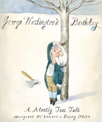 Cover image for George Washington's birthday