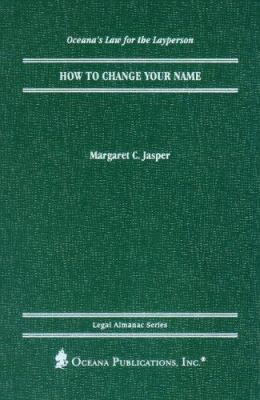 Cover image for How to change your name