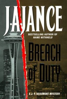 Cover image for Breach of duty : a J.P. Beaumont mystery