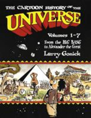 Cover image for The cartoon history of the universe