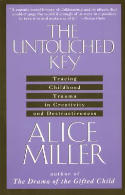 Cover image for The untouched key : tracing childhood trauma in creativity and destructiveness