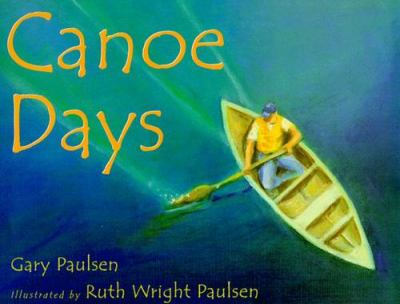 Cover image for Canoe days