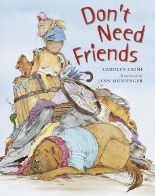Cover image for Don't need friends