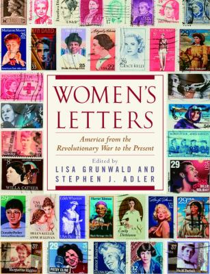 Cover image for Women's letters : America from the Revolutionary War to the present