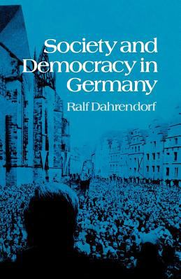 Cover image for Society and democracy in Germany