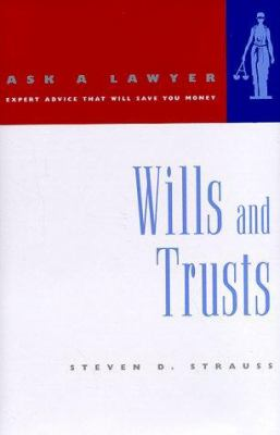 Cover image for Ask a lawyer. Wills and trusts