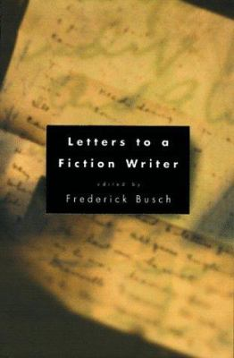 Cover image for Letters to a fiction writer