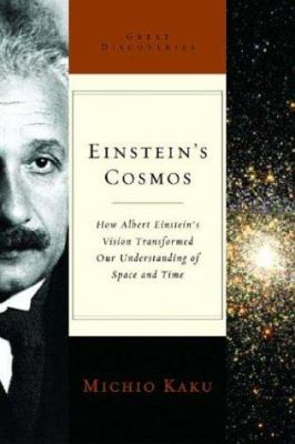 Cover image for Einstein's cosmos : how Albert Einstein's vision transformed our understanding of space and time