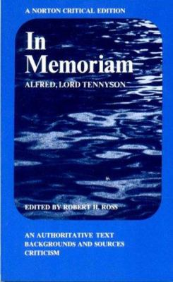 Cover image for In memoriam; an authoritative text, backgrounds and sources, criticism.