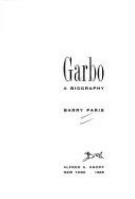 Cover image for Garbo : a biography