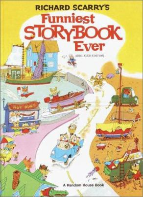 Cover image for Richard Scarry's Funniest storybook ever.