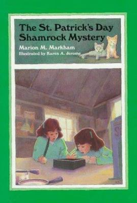 Cover image for The St. Patrick's Day shamrock mystery
