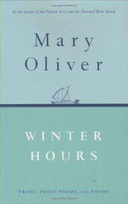 Cover image for Winter hours : prose, prose poems, and poems