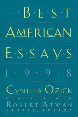 Cover image for The best American essays 1998