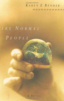 Cover image for Like normal people
