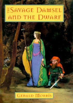 Cover image for The savage damsel and the dwarf