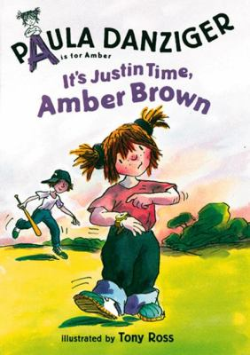 Cover image for It's Justin Time, Amber Brown
