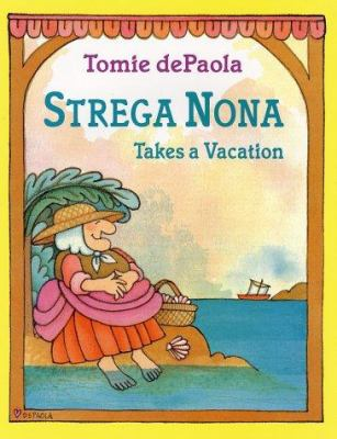 Cover image for Strega Nona takes a vacation