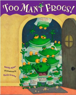 Cover image for Too many frogs!