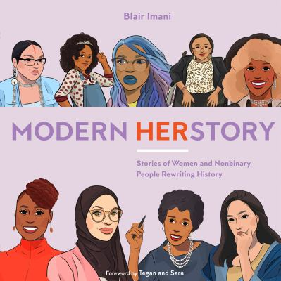 Cover image for Modern HERstory : stories of women and nonbinary people rewriting history