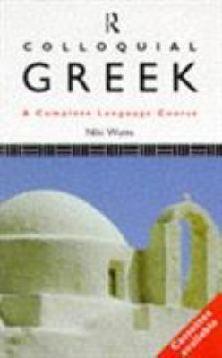 Cover image for Colloquial Greek