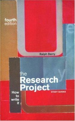 Cover image for The research project : how to write it