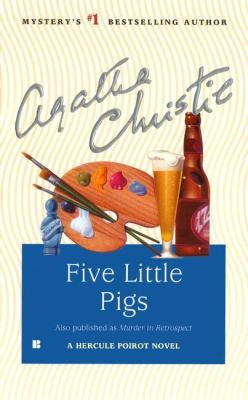 Cover image for Five little pigs
