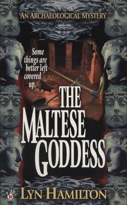Cover image for The Maltese goddess : an archaeological mystery